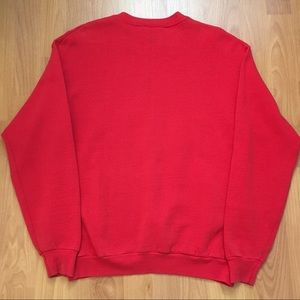 American Vintage Shirts - Vtg CSA Tampa Bay Buccaneers Taz Red Crewneck Med